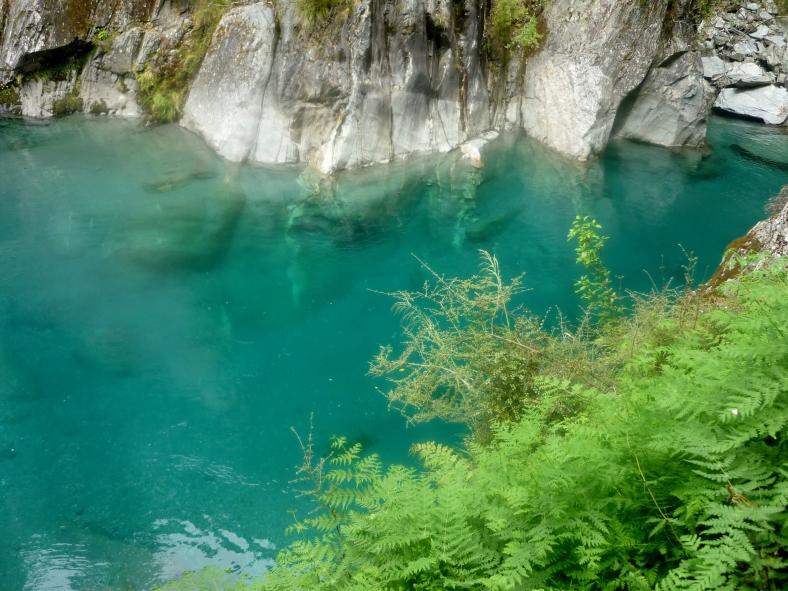Blue Pools, Makarora, Mount Aspiring National Park